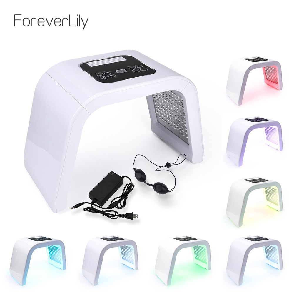 VIP Professional 7 Colors PDF Led Mask Facial Light Therapy