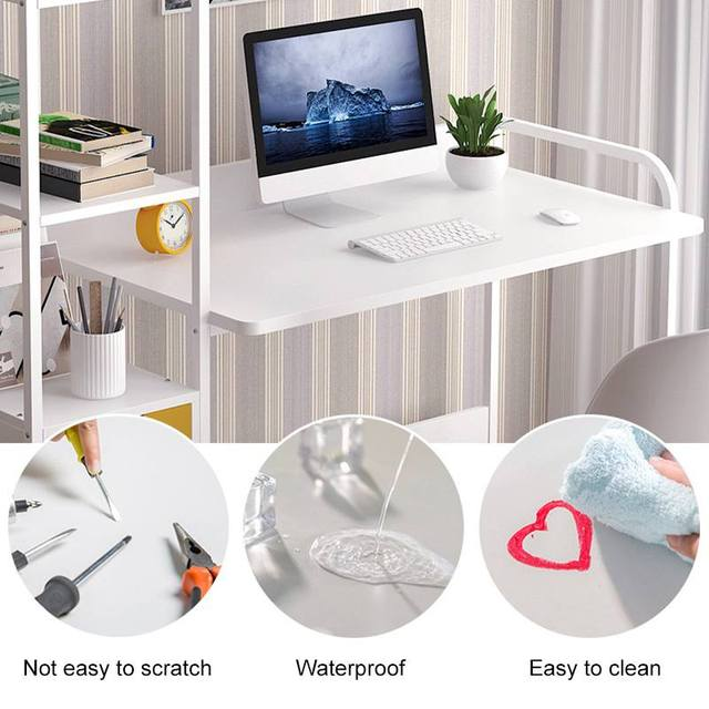 Business Office Furniture Laptop Desk Computer Desk With Shelves