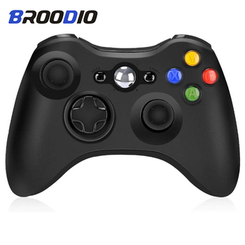 Gamepad Joystick For Xbox 360 Wireless/Wired Controller For XBOX 360 Control For XBOX360 Game Wireless Controller Joypad For PC alloyseed for xbox 360 wireless controller gamepad pc adapter gaming usb receiver for microsoft xbox 360 console with cd drive