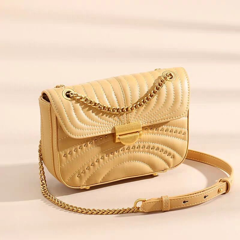 Vento marea Cross Body Bags Women Genuine Leather Purse For Lady 2019 Chain Shoulder Phone Bags