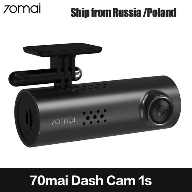 70mai DVR Xe Ô Tô WiFi Ứng Dụng Tiếng Anh Điều Khiển Giọng Nói 70 Mai 1S 1080P Nhìn HD Xiaomi 70mai Dash cam 1S Camera Ghi Hình