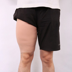 ¡Novedad! ¡oferta! Faja moldeadora de muslos robusta de silicona de 2600 g/par, funda de 3cm de espesor para piernas para hombres, estilos más fuertes