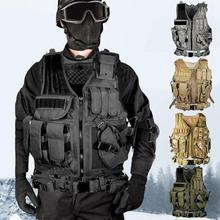 Live CS Game Equipment Tactical Vest Field outdoor Tactical Vest SWAT Police Military Airsoft Hunting Combat Assault цена 2017