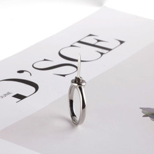 Moon-Rings-Set Opal Finger-Ri Anti-Wolf-Ring Self-Defense for Women Crystal Midi Artifact