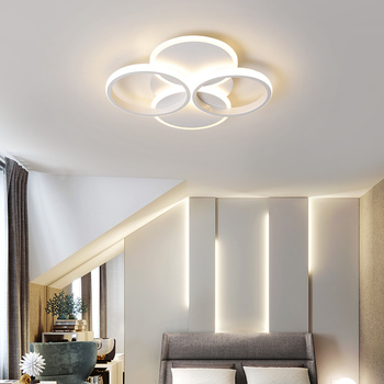 Modern Chandelier Lighting for home bedroom Living Study room kitchen Creative Ceiling Chandelier with remote dimming