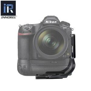"""Image 3 - LPN D850LBG caméra L support fixation rapide L plaque 1/4 """"vis Arca Swiss Vertical prise de vue vidéo pour Nikon D850 DSLR tête de trépied"""
