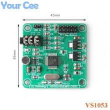 VS1053 Audio Module MP3 Player Module Development Board onboard Recording SPI OGG Encoding Recording Control Signal Filter DC 5V