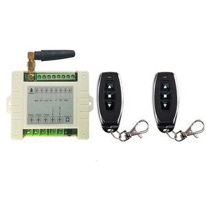 Image 3 - 433mhz RF 220V elektrikli kapı/perde/kepenkler limit kablosuz radyo uzaktan kumanda anahtarı İleri ve ters motorları