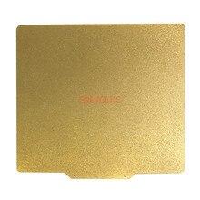 Energiek Nieuwe 310X310 Mm Dubbelzijdig Geweven/Glad Pei Lente Staalplaat (Een Zijde) gepoedercoat Pei + Base Voor CR 10S Bed