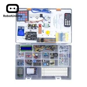 Image 2 - Robotlinking Il Più Completo Starter Kit Tutorial per UNO di Componenti per la Arduino (63 Gli Articoli)