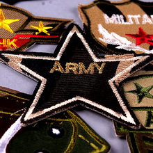 Military Patches Army 511 Tactical Patch Embroidered for Clothing Applique Air force Armband Stripe Wholesale
