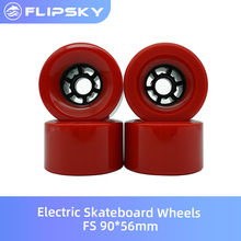 Electric Skateboard Wheels FS 90*56mm DIY Accessories for Scooter Flipsky