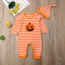 Brother Sister Twin Baby Boy and Girl Matching Halloween Bodysuit