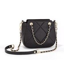 Nieuwste Fashion Design Vrouwen Luxe Merk Crossbody Tas Ketting Koe Lederen Schoudertas Messenger Bag Voor Dames Bolsa Sac Vrouwelijke