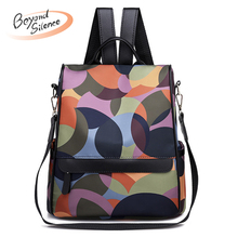 Preppy Style Women Backpack Oxford School Bags for Teenager Girls Fashion Colorful Female Travel Schoolbags