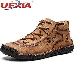 UEXIA Winter Men Ankle Boots C