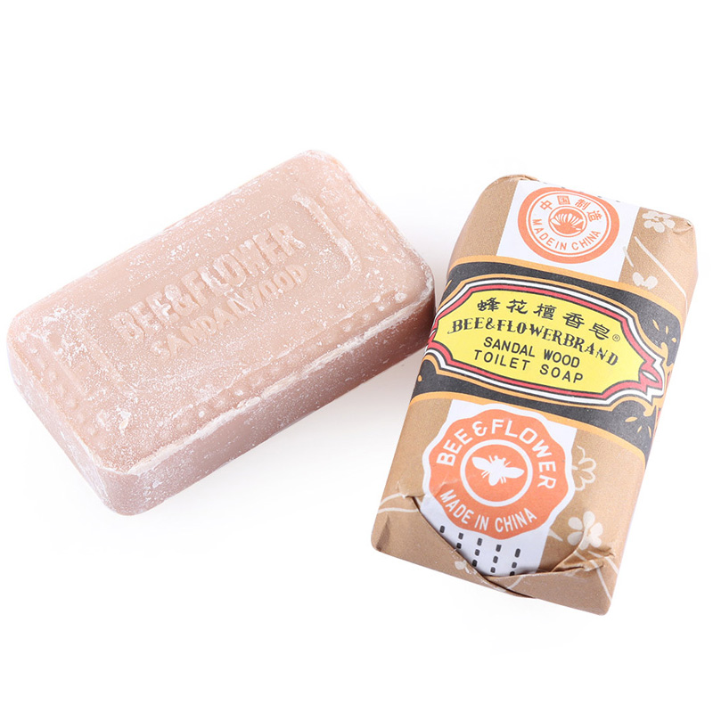 Handmade Sandalwood Whitening Soap Pimple Facial Nose Blackhead Remover Cleaner Anti Bacterial For Bath Shower Skin Care Gifts