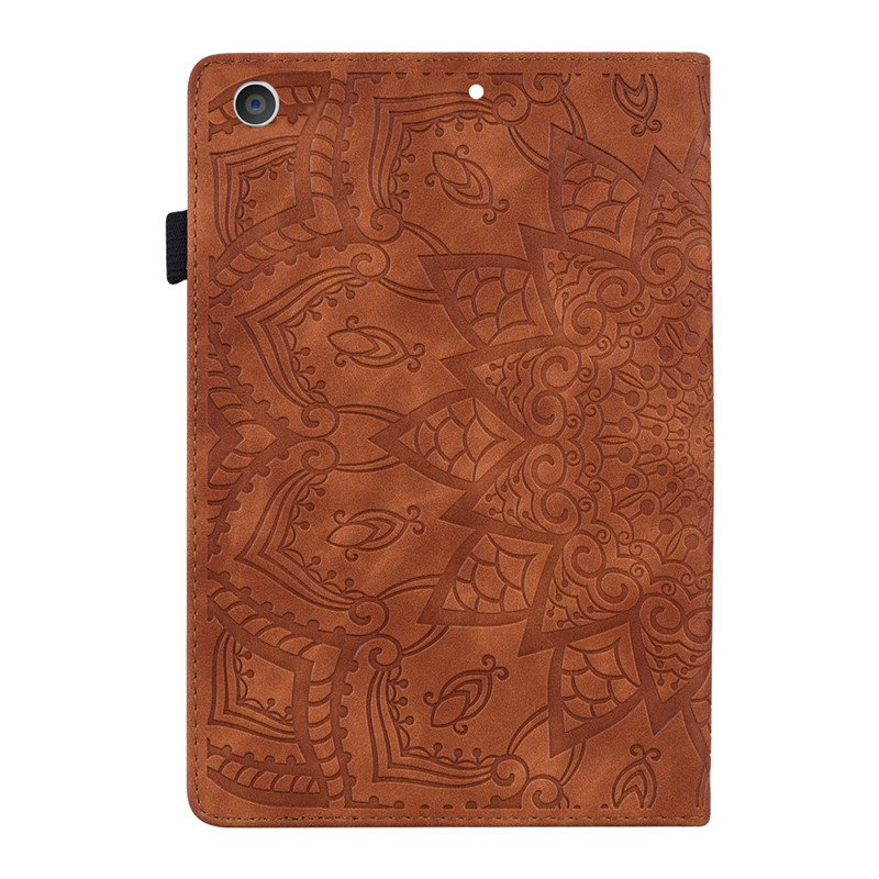 Wekays For Coque iPad 10 2 2019 Classic Flower Leather Funda Case For iPad 10 2