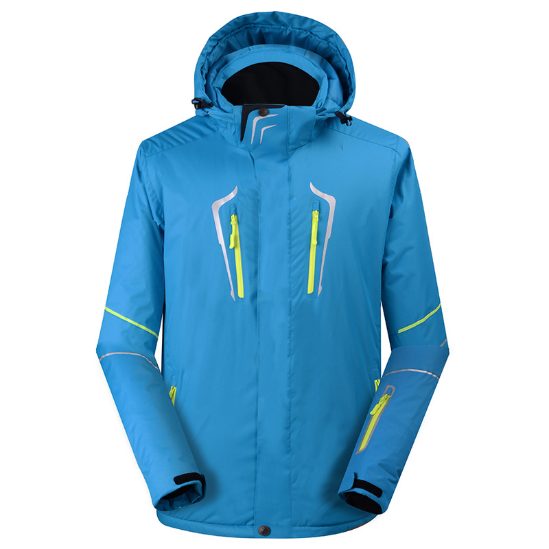 Winter jacket men women Winter outdoor veneer double snowboard clothing waterproof warm thickening snowboard jacket ski suit in Skiing Jackets from Sports Entertainment