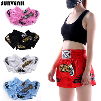 Women Mma Muay Thai Shorts Kids Bjj Kick Boxing Fight Grappling Trunks Boys Girls Kickboxing Sanda Training Combat Fitness Pants wesing mma trunks muay thai boxing short pants sport cool spider pattern kick boxing sport fitness training shorts