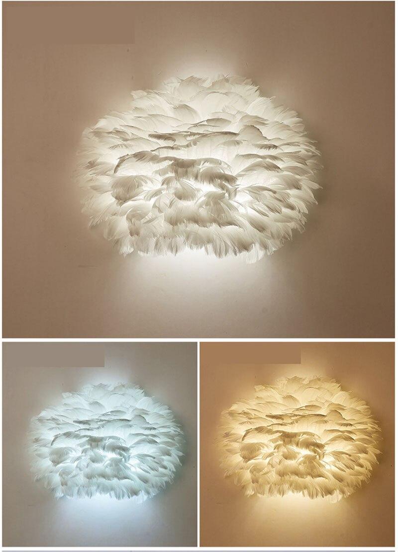 Nordic lâmpada de parede led simples e