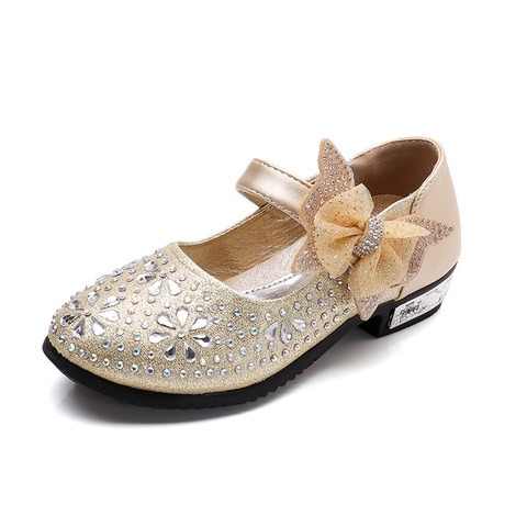 criancas meninas sapatos de couro arco sapatos de princesa estudantes sapatos de danca criancas apartamentos