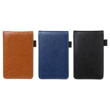 Multifunction Pocket Planner A7 Notebook Small Notepad Note Book Leather Cover Business Diary Memos Office School Stationery Sup