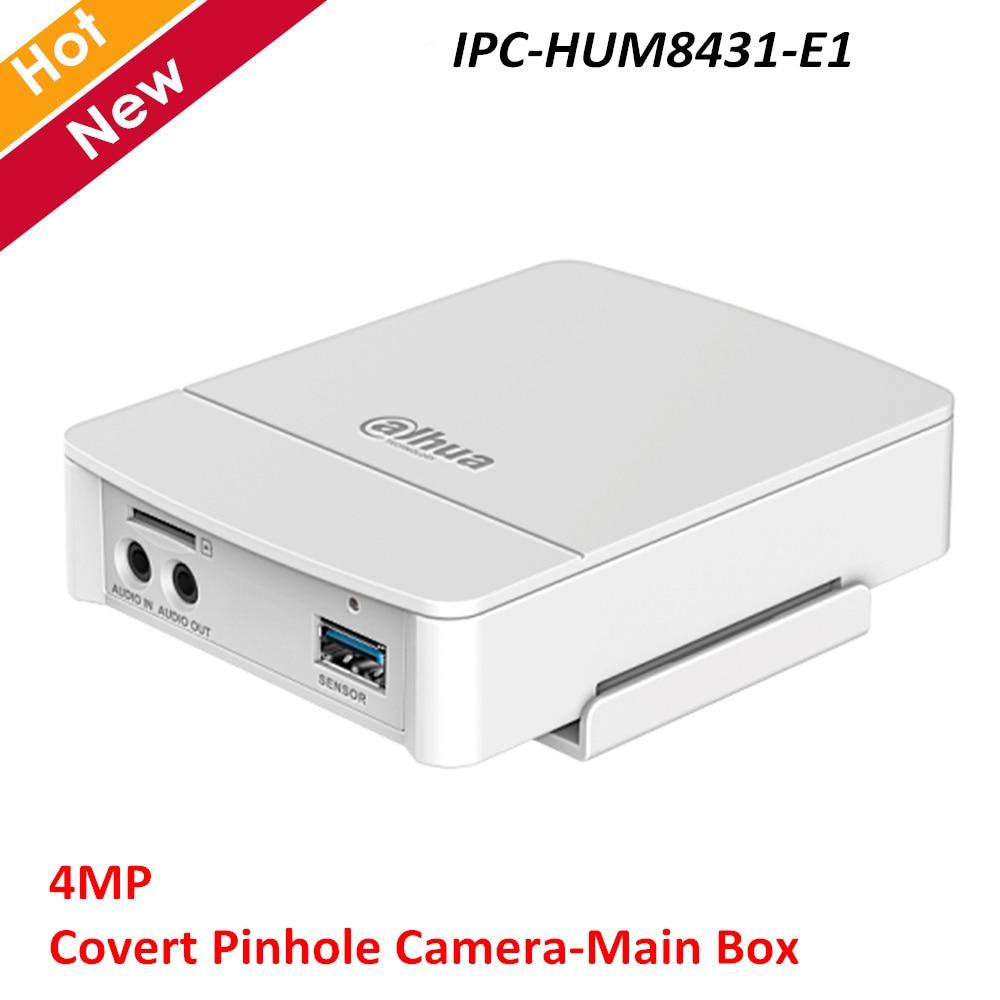 Dahua IPC-HUM8431-E1 4MP cache sténopé réseau caméra boîte principale H.265 prise en charge de la détection intelligente POE besoin de travailler avec l'objectif