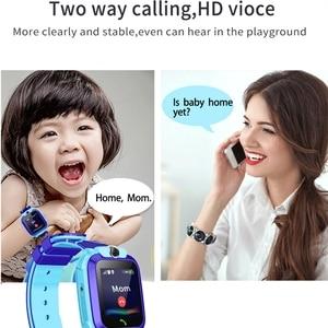 Image 5 - AISHI Q12 enfants montre intelligente SOS téléphone montre Smartwatch pour enfants carte Sim Photo étanche IP67 pour IOS Android VS S12 Q12B