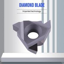 YOUSCARD 1Piece CNC High quality diamond Threading Turning Tool Insert Lathe tool16IRAG60 16ERAG60 16IRAG55 16ERAG55