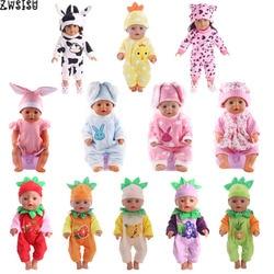 Puppe Kleidung 15 Stil Wählen 1 = Weihnachten Geschenk Puppe Kleidung Nette Pyjamas Tragen Fit 18 Zoll Amerikanischen Puppe & 43 Cm Geboren Puppe Spielzeug