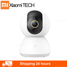 2020 New Xiaomi Mijia Smart IP Camera 2K 360 Angle Video CCTV WiFi Night Vision Wireless Webcam Security Cam View Baby Monitor