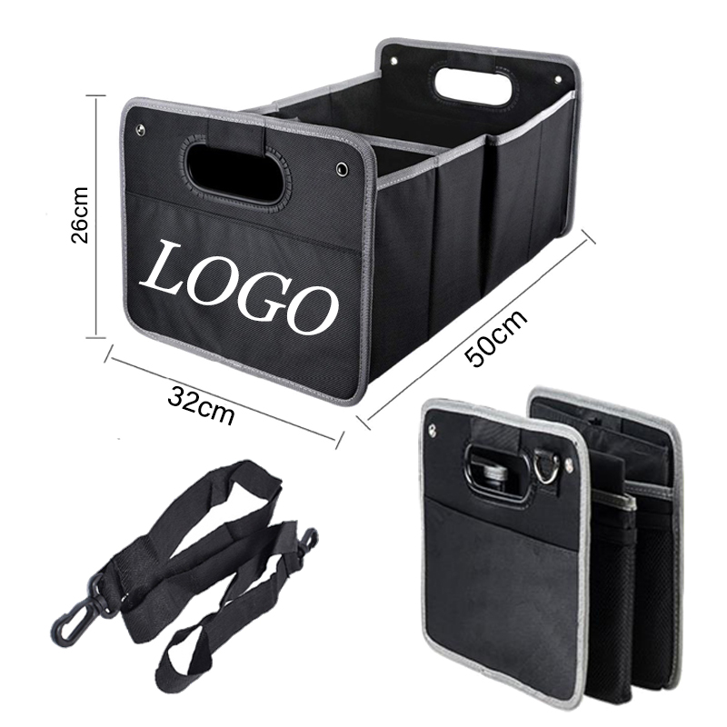 Foldable Car Trunk Storage Box For Mercedes Benz For BMW For Audi Ford Toyota Car Tools Organizers Bags Interior Accessories