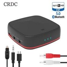 Bluetooth 5,0 Audio Sender RCA Empfänger CSR8675/8670 AptX LL HD 3,5mm Jack Aux SPDIF Wireless Adapter für TV Auto Lautsprecher