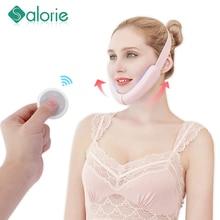 Lift-Belt-Machine Lifting-Device V-Line-Up Vibration-Massager Face-Care Facial Blue LED