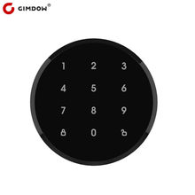 Password With GIMDOW Smart LOCK A1 pro Electric Hotel Bluetooth Locker for Tuya smart app