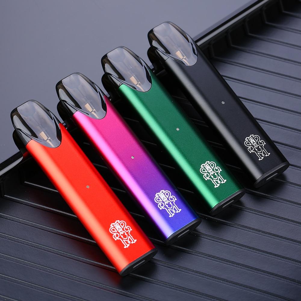 NEW Heavengifts Asmodus Pyke Pod Portable Kit 480mAh Battery 2ml Capacity E-cig Pod System With 1.3ohm Coil Vs Minifit