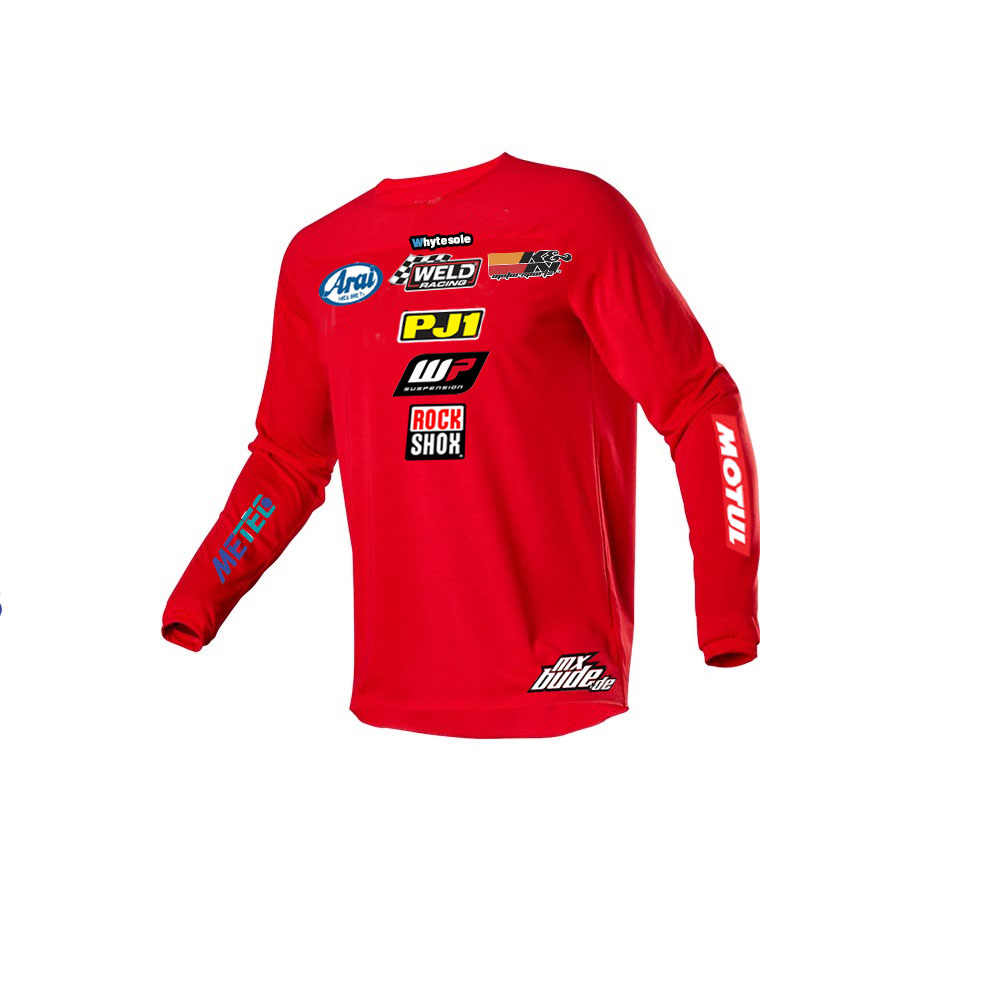 2019 ขี่จักรยาน JERSEY MX motocross JERSEY downhill JERSEY Off Road Mountain DH MTB JERSEY