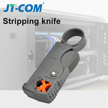 Automatic Stripping Pliers Multifunctional Wire Stripper Wire Cable Tools Stripping Crimping Tool for RG58 RG59 RG6