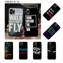 NBDRUICAI Islam Motivational Posters Quotes Bling Cute Phone Case for iPhone 11 pro XS MAX 8 7 6 6S Plus X 5S SE XR case nbdruicai the shawshank redemption bling cute phone case for iphone 11 pro xs max 8 7 6 6s plus x 5s se xr case