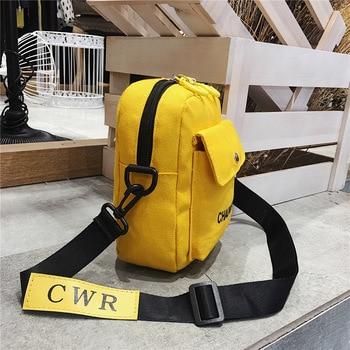 Women Shoulder Bag Fashion Pure Color Casual Tote Outdoor Bag Canvas Handbag Zipper Messenger Messenger Bags Sac Main Femme 6