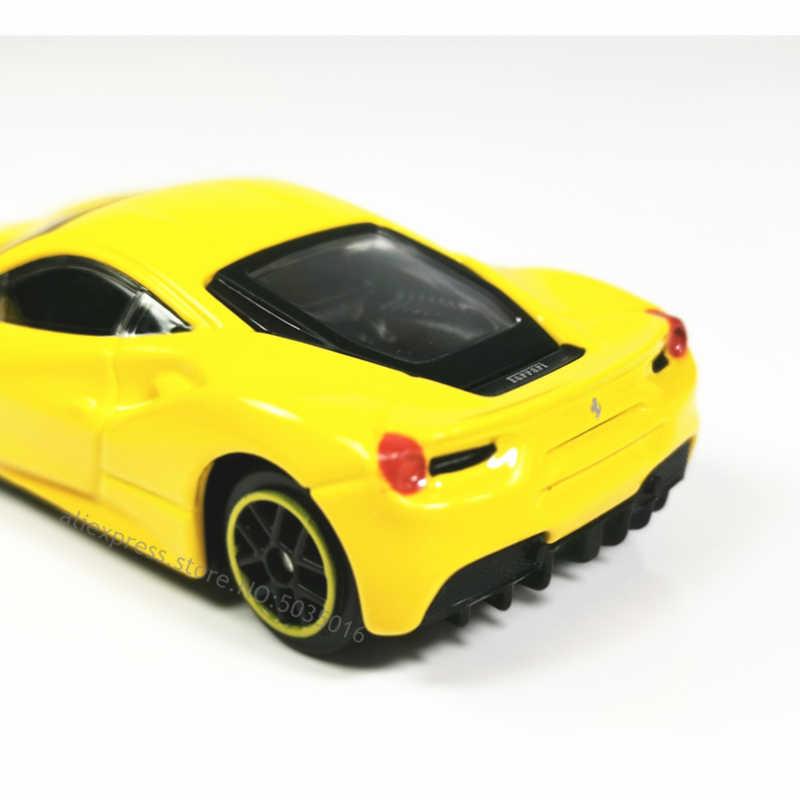 Bburago 1: 64 488GTB Ferrari Modelo de Carro Die-casting Modelo de Metal Crianças Brinquedo Dom Namorado Simulado Liga Carro de Coleção