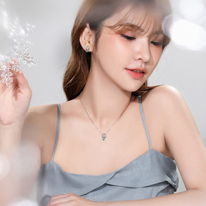 Image 4 - Thaya Asymmetrical Glacier Necklace Cute Animal S925 Silver Pendant Necklace for Women Original Design Jewelry