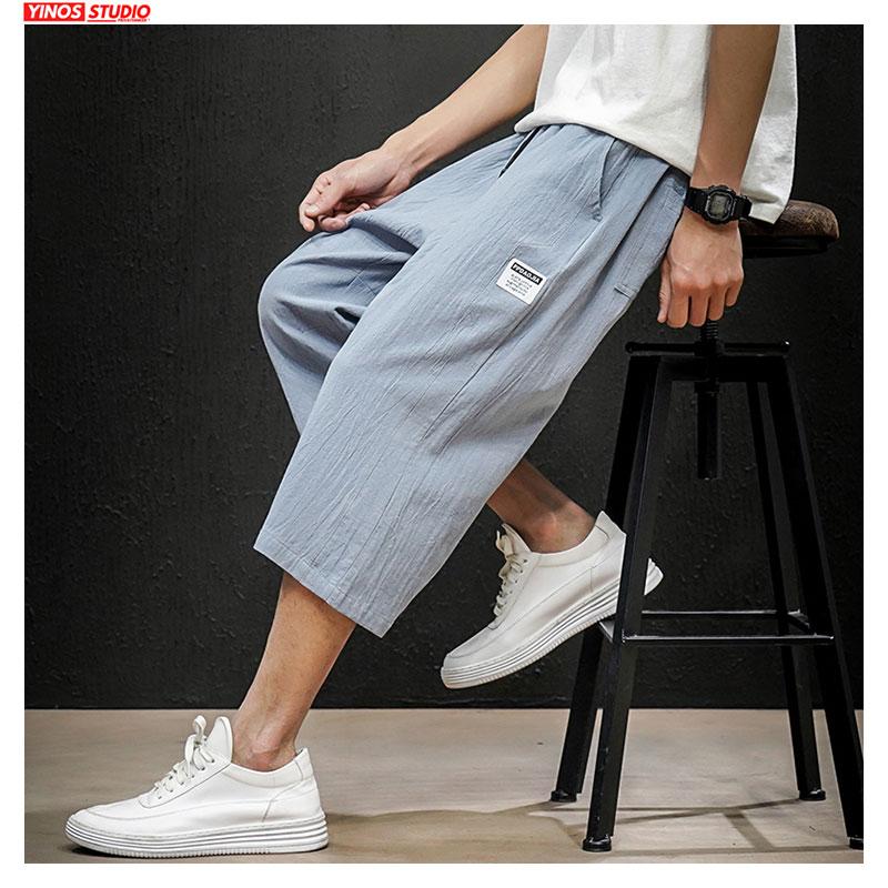 Dropshipping 2020 Fashion Elasticated Waist Men's Summer Shorts Male Casual Short Pants 5XL Sweatpants