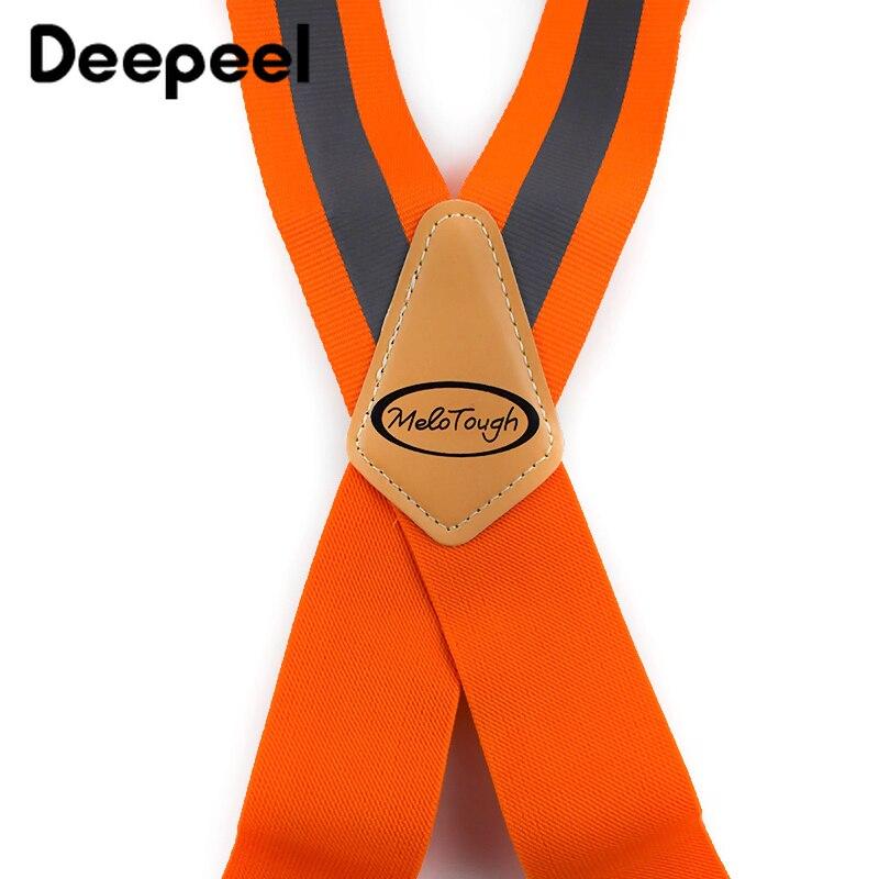 Deepeel 1 шт 5*110 см мужские рабочие подтяжки для одежды широкий