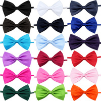 100 X Pet Dog Cat Bow Tie Necktie Ribbon Adjustable Strap Dog Cat Grooming Accessories Christmas Holiday Dog Bowtie Pet Supplier