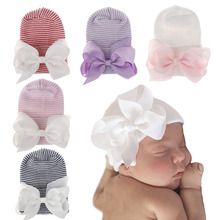 Winter Hat Hospital-Hat Newborn-Baby 0-3-Month Cotton for Tire-Cap Thickened New-Style