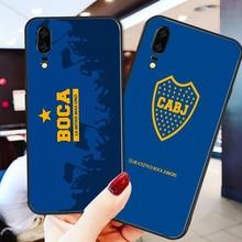 Phone Case Tevez For Huawei Mate10 Lite 20X Black Soft TPU DIY Case For Boca Juniors FC Nova5 Mate 9 P30 Pro G10 Nova5 Pro 5i