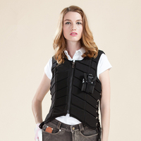 Equestrian Armor Vest Horse-Riding Clothing Protective Clothing Children Knight Equipment Equestrian Unisex  EVA  Padded  Vest 1