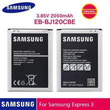 SAMSUNG Batteria Originale EB BJ120CBU EB BJ120CBE 2050mAh Per Samsung Galaxy J1 2016 Versione J120 J120F J120A J120H J120T J120DS